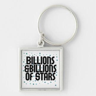 Billions and Billions of Stars Keychain