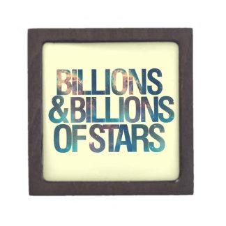 Billions and Billions of Stars Premium Trinket Box