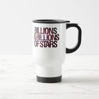 Billions and Billions of Stars Travel Mug