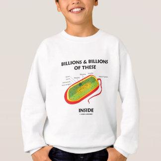 Billions And Billions Of These (Prokaryote) Inside Sweatshirt