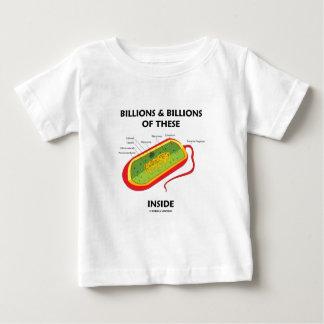Billions & Billions Of These (Prokaryote) Inside Shirts