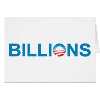 BILLIONS CARD