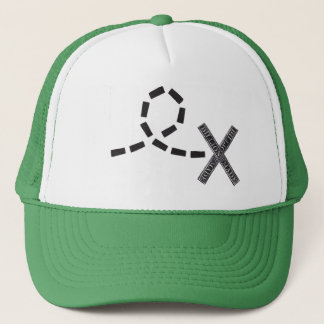 Billions Made  Behind the X Trucker Hat