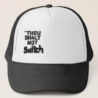 Billions Made Thou Shall Not Snitch music design Trucker Hat