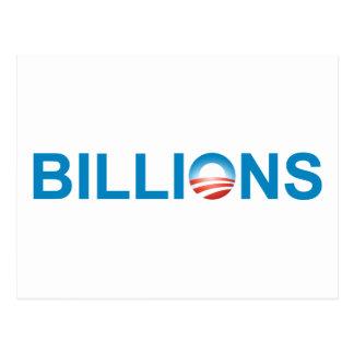 BILLIONS POSTCARD