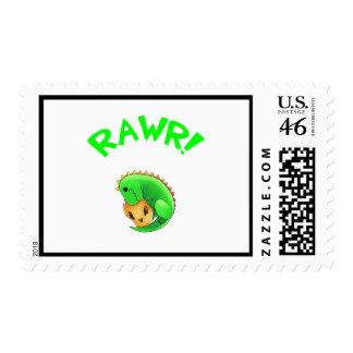 Billisaur Rawr Stamp