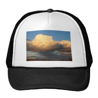 Billowing Clouds in Arizona saguaro cactus Trucker Hat