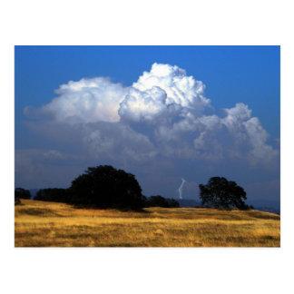 Billowing Thunderhead Post Card