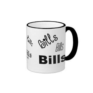 Bills, Bills, Bills mug