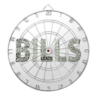 Bills Doodle Collage Dart Board