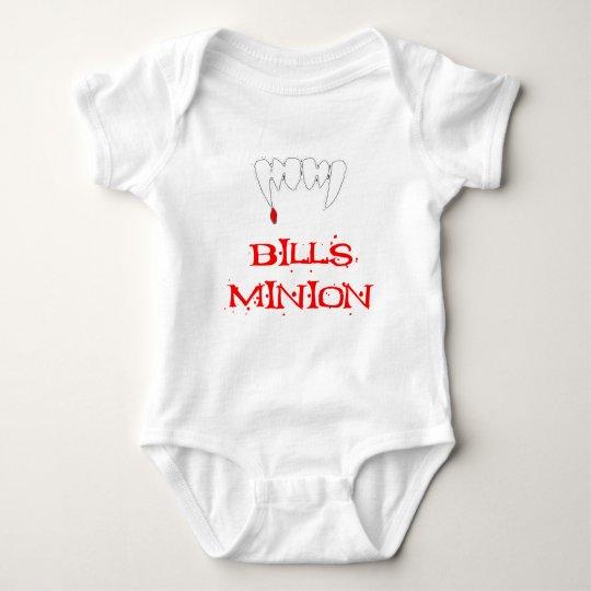 Bills Minion Baby Bodysuit