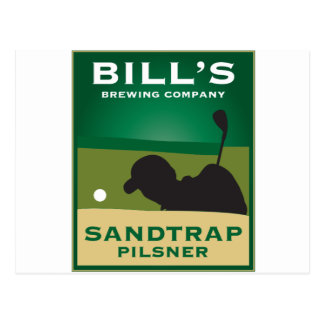 Bill's Sandtrap Pilsner Postcards