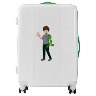 Billy Adventure Time Luggage