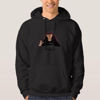 Billy Bob Rancourt- Problem? Hooded Sweatshirt