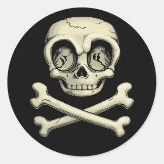 Billy Bones Classic Round Sticker