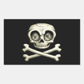 Billy Bones Rectangular Sticker