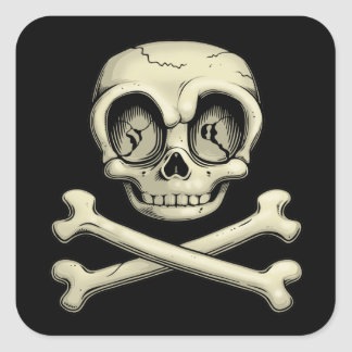 Billy Bones Square Sticker