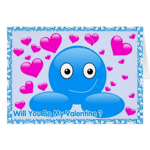 Billy Bubbl' Will You Be My Valentine? Card