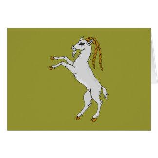 Billy caballete de cabra goat felicitación