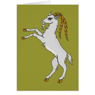 Billy caballete de cabra goat felicitacion