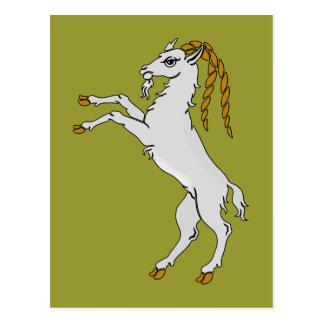 Billy caballete de cabra goat tarjetas postales