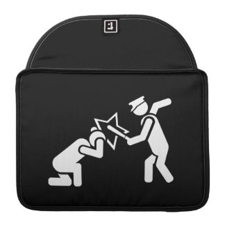 Billy Club Pictogram MacBook Pro Sleeve