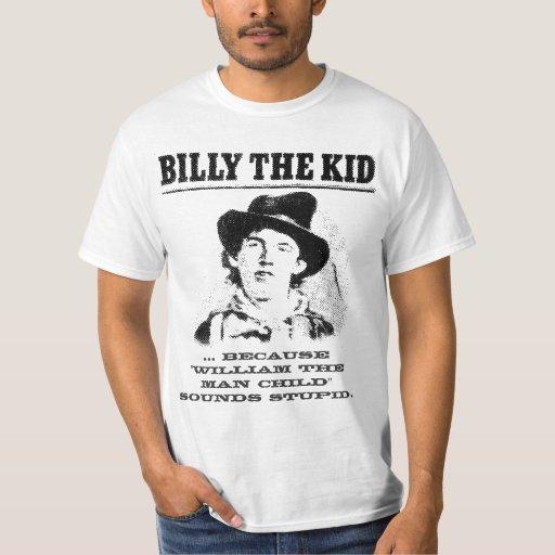 billy divertido la camisa del niño