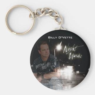 Billy Dvette CD Keychain