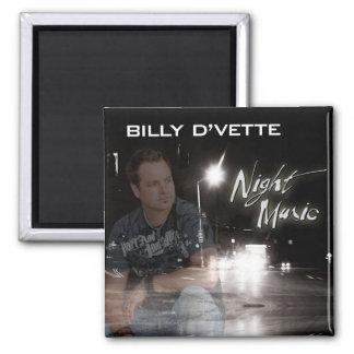 Billy DVette Magnet