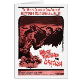 Billy el niño contra la tarjeta de Drácula