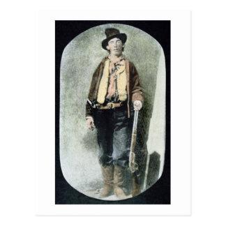 Billy el niño (grabado coloreado) tarjetas postales