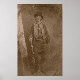 Billy el niño -- Oeste salvaje Póster