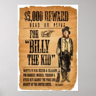 Billy el niño póster