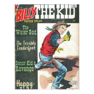 Billy el niño postales