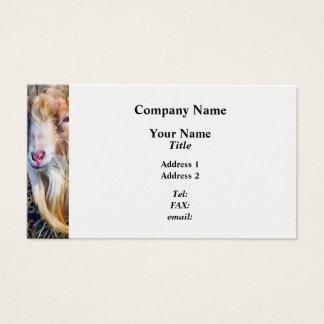 Billy Goat Closeup Business Card