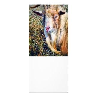 Billy Goat Closeup Rack Card