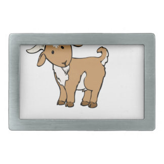 billy goat farm animal belt buckle