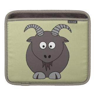 Billy Goat in Beige iPad Sleeve
