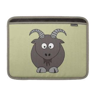 Billy Goat in Beige MacBook Air Sleeves