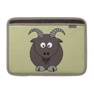 Billy Goat in Beige MacBook Sleeve