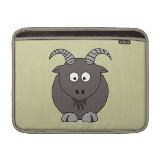 Billy Goat in Beige MacBook Sleeve