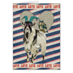 Billy Goat & Owl Love Card