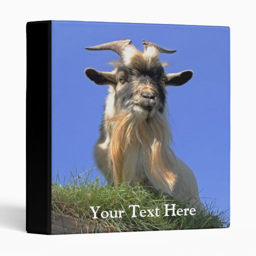 Billy Goat Photo Vinyl Binders