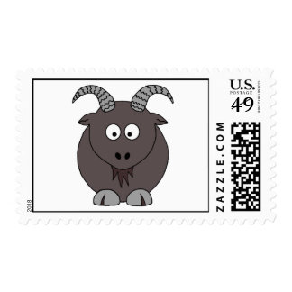 Billy Goat Postage Stamp