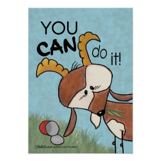 Billy Goat-You CAN do it! Poster