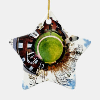 billy graham library mini planet ceramic ornament
