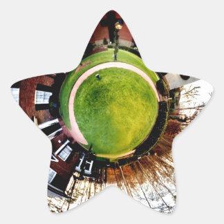 billy graham library mini planet star sticker