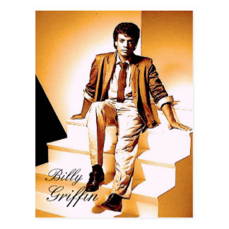 Billy Griffin RESPECT Postcard