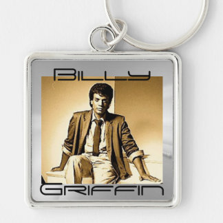 Billy Griffin RETRO-Gold Keychain