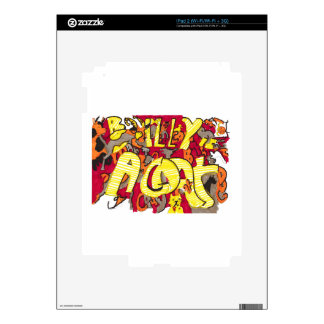 """""""Billy is a Goat"""" iPad 2 (Wi-Fi/Wi-Fi + 3G) Decal For iPad 2"""
